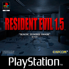 The cover art of the game Resident Evil 1.5 (Magic Zombie Door).