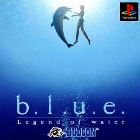 The cover art of the game B.L.U.E.: Legend of Water.