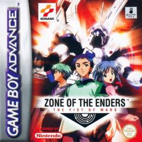 The cover art of the game Zone of the Enders: The Fist of Mars.