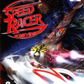 The cover art of the game Speed Racer.