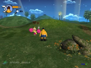 ToeJam & Earl 3 Dreamcast Beta Screenshots