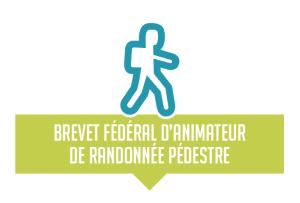 logo brevet fédéral animateur de randonnée