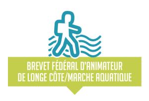 logo brevet fédéral animateur longe côte