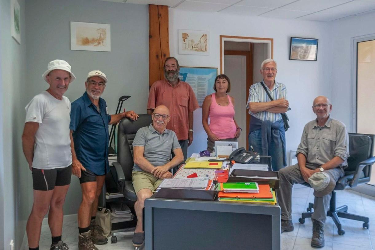 réunion finale à la mairie de Surba