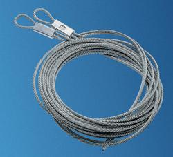 Ideal Door® Extension Spring Safety Cables for Overhead ... on Overhead Garage Door Spring Replacement  id=40399