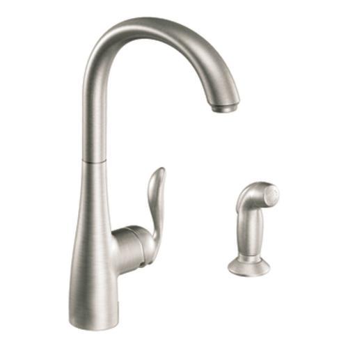 Single Handle Kitchen Faucet Matching Side Spray Menards