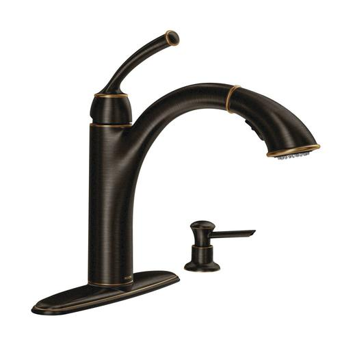 Moen Sullivan Single Handle Pullout Kitchen Faucet Menards