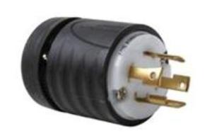 Legrand Turnlok® BlackWhite 30Amp 3Phase Y 277480Volt