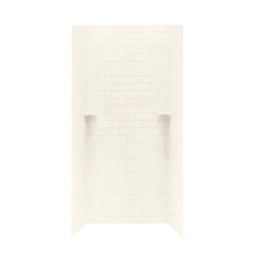 Swan STMK96 3636 Subway Tile 36 X 36 X 96 Shower Wall