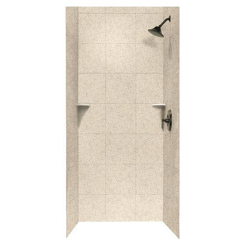 Swan Square Tile 36 X 36 X 72 Shower Wall Kit At Menards