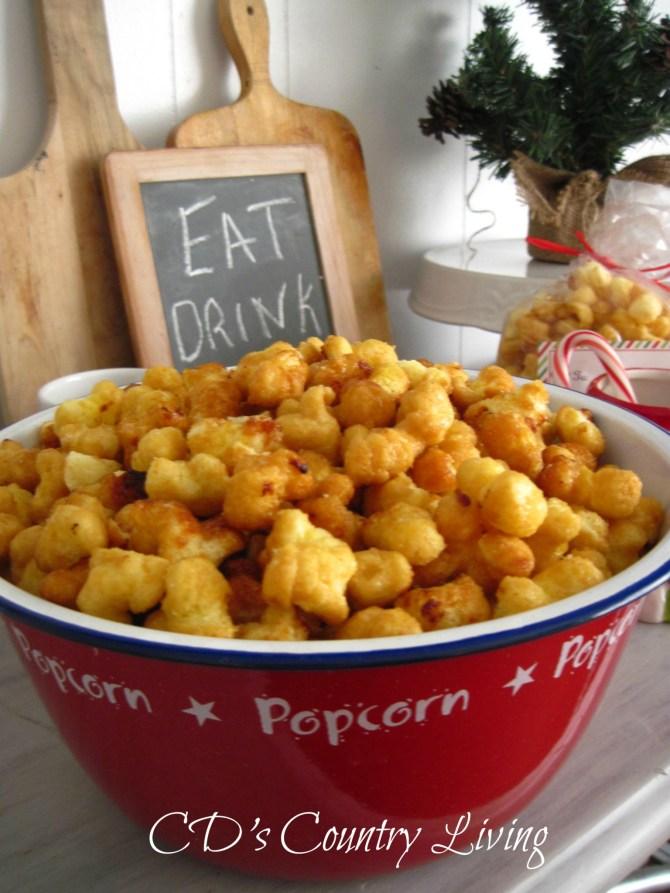 Caramel Puffed Popcorn2