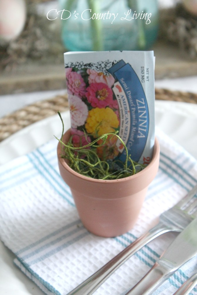 Rustic Spring Table