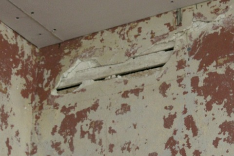 Hole in Plaster