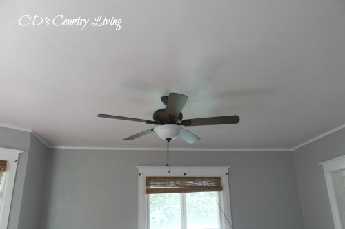 Painted Walls and Trim in Living Room