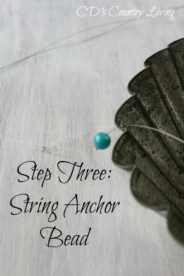 Step Three String Anchor Bead