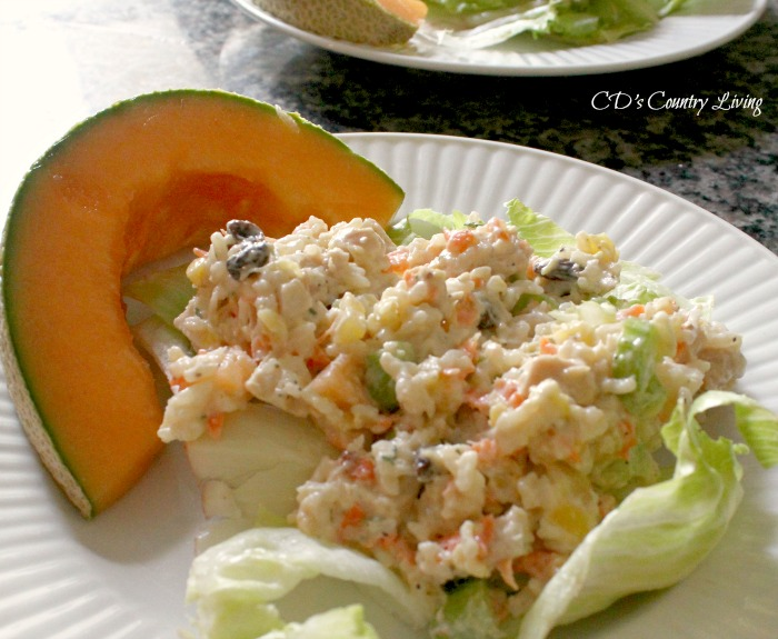 Chicken and Rice Summer Salad