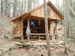 Mountaineer Falls Shelter
