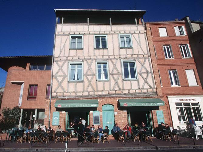 LE CAFE DES ARTISTES TOULOUSE Bar Thme