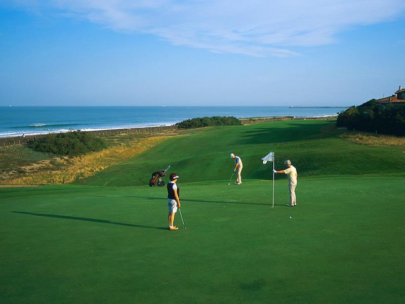 Golf De Chiberta Anglet Tourisme