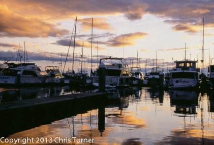 sunset elliot bay amrina