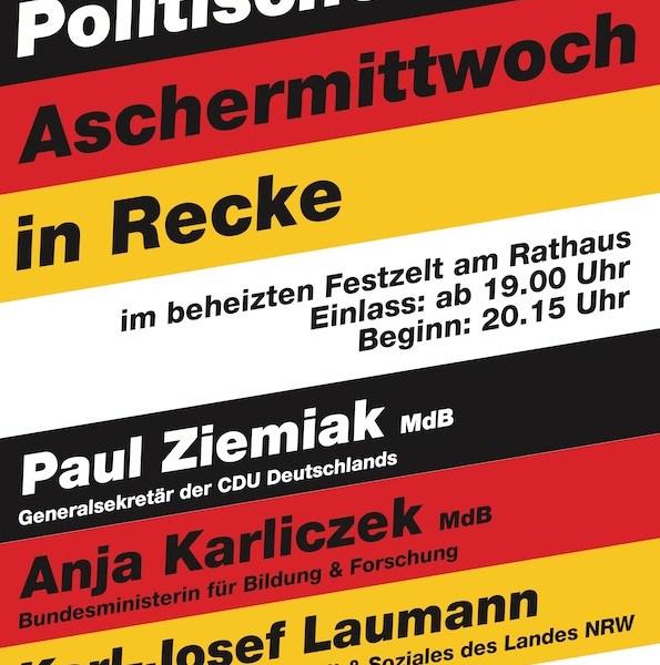 19. Politischer Aschermittwoch in Recke