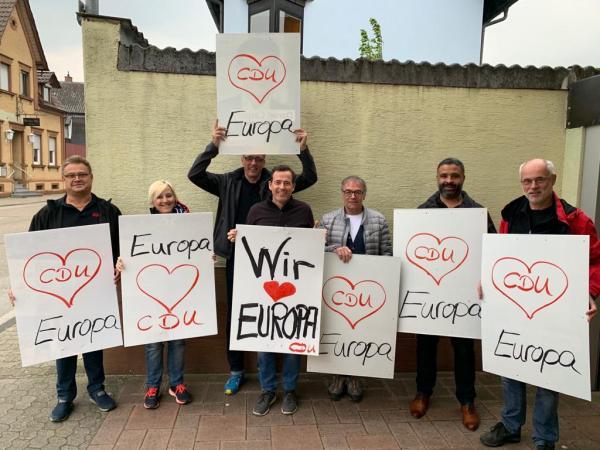 CDU wirbt für Europa