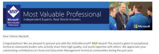 Microsoft MVP!!!!!!
