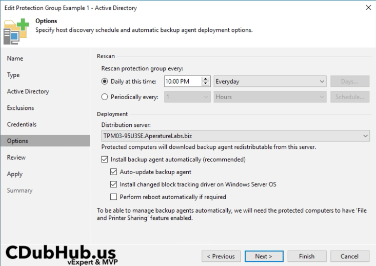 Veeam Agent for Windows 2 1 - Change Block Tracking Filter Driver