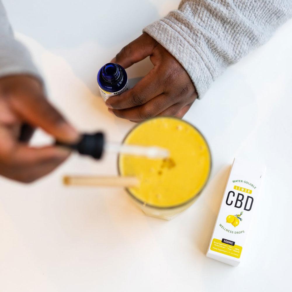 Consommer huile de CBD