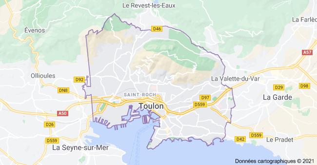 Livraison de CBD par coursiers à Toulon et villes proches