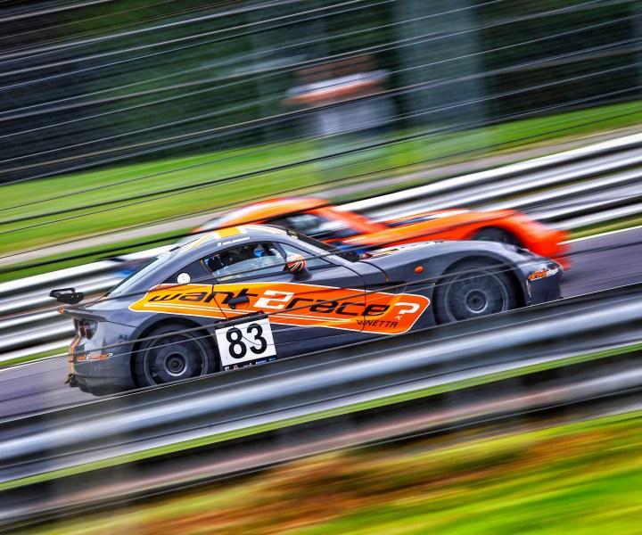 Ginetta racing team CDW Motorsport Ginetta G40 at Brands Hatch