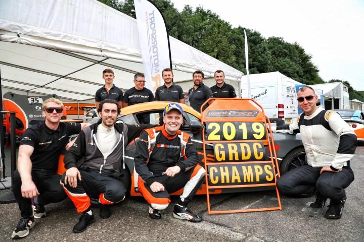 Ginetta G40 GRDC Championship winning team W2R Motorsport and CDW Motorsport