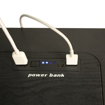 smart table power bank up close