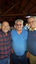 Izq. a der. Rodolfo, Pupi y Américo.