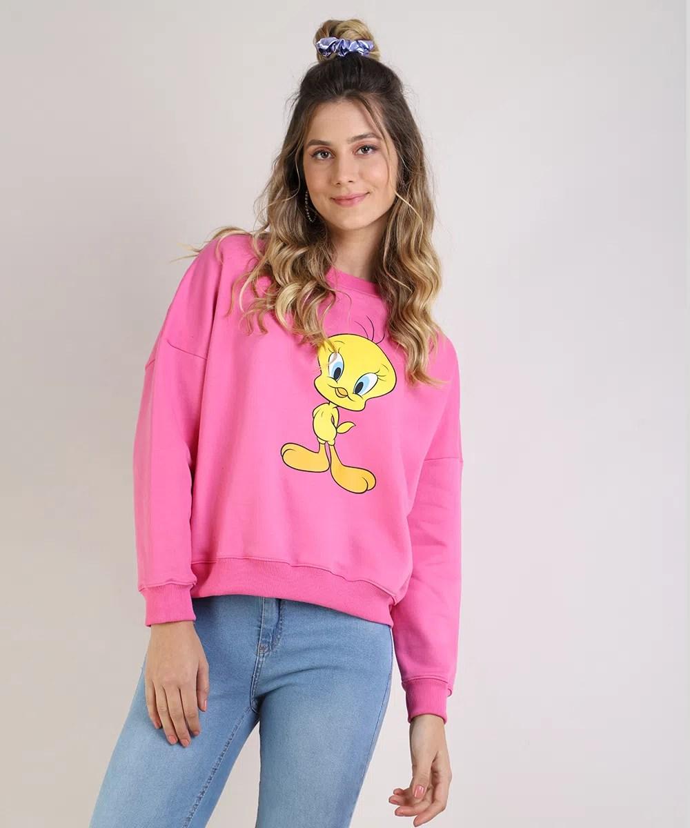 Blusao-de-Moletom-Feminino-Os-Simpsons-Decote-Redondo-Branco-9954548-Branco_1