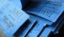 """""""Raffle Tickets""""(image via Flickr user Alyson Hurt)"""