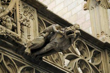 photo of gargoyle