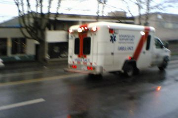 photo of an ambulance