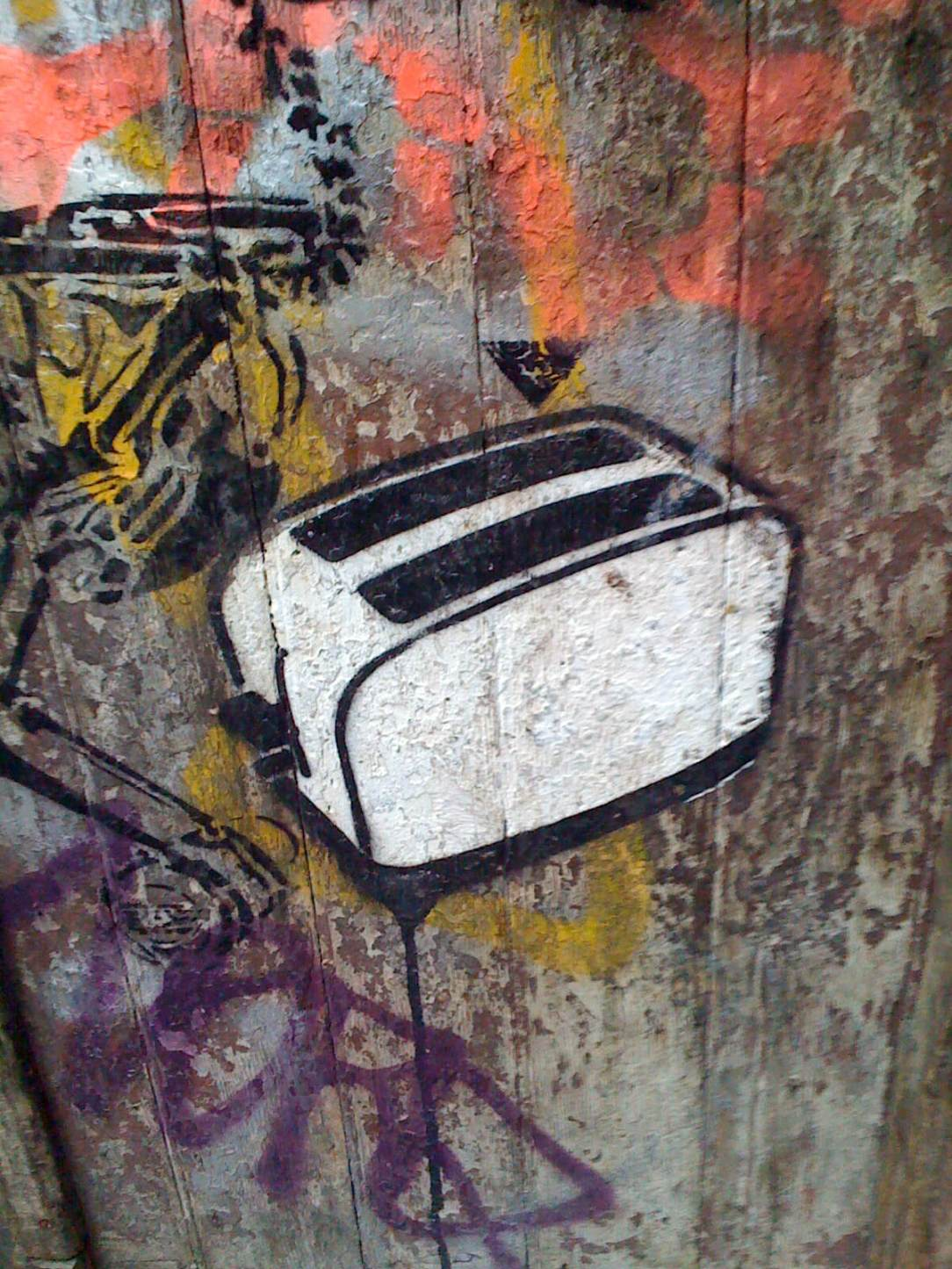 toaster graffiti