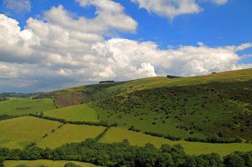 photo of mountain pastures