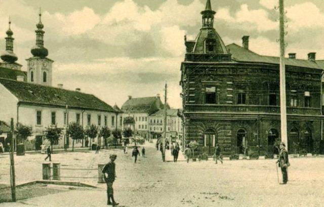 Târgu Mureș în 1907