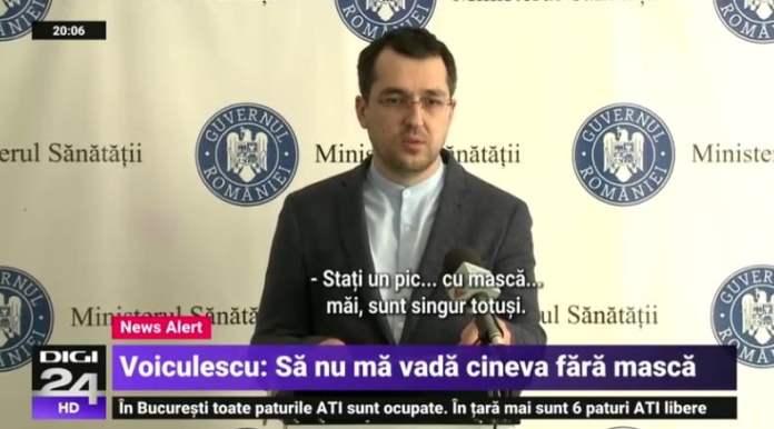 Voiculescu, Vlad Voiculescu, agentul 00mască