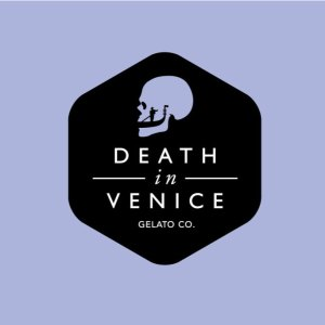 Logo, Brand Identity Design for Death in Venice Gelato Co. Toronto