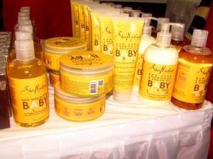 Shea Moisture's Raw Shea Butter Eczema soap (not pictured)  along w/shampoo & baby wash.