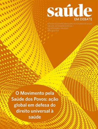 Saúde em Debate v. 44 n. Especial 1 – O Movimento pela Saúde dos Povos: ação global em defesa do direito universal à saúde