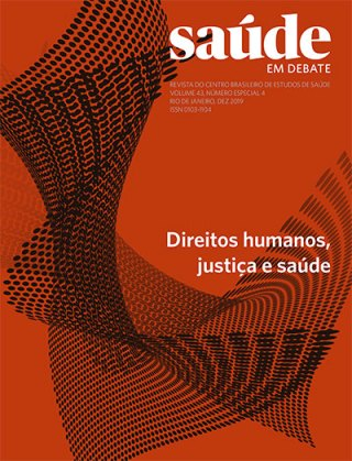 Saúde em Debate v. 43 n. Especial 4 – Direitos Humanos, justiça e saúde
