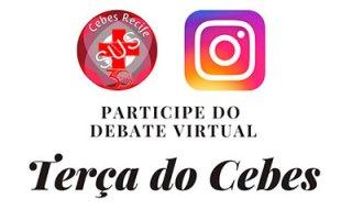 Terças do CEBES 08/09 às 19h30 com o tema Setembro Amarelo: A prevenção do suicídio no SUS em Recife