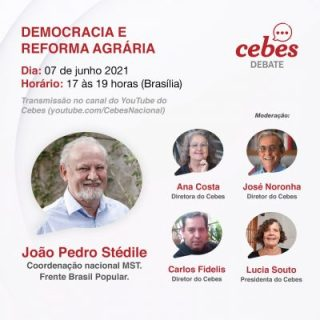Cebes Debate: 'Democracia e Reforma Agrária' com João Pedro Stédile