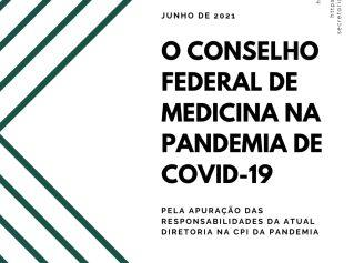 'O Conselho Federal de Medicina não me representa na pandemia de covid-19'; acesse o documento da Rede Nacional de Médicas e Médicos Populares e Associação Brasileira de Médicas e Médicos pela Democracia
