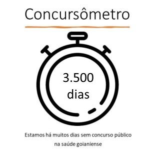 Cebes Goiás evidencia com Concursômetro a falta de concurso público na saúde de Goiânia
